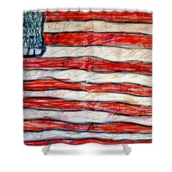 American Social Shower Curtain