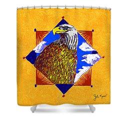 American Spirit Shower Curtain by John Keaton