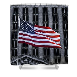 American The Beautiful  Shower Curtain