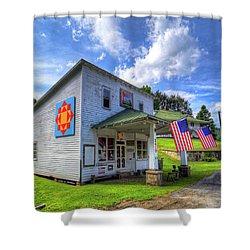Americana Shower Curtain by Dale R Carlson