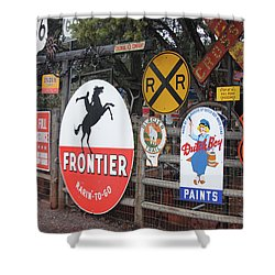 Americana Rt.66 Shower Curtain