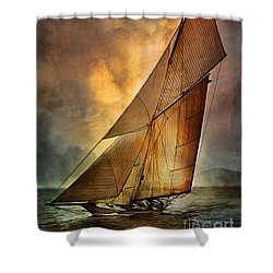 America's Cup 1 Shower Curtain