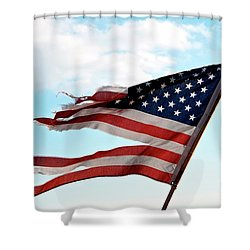 America's Liberty Prevails Shower Curtain