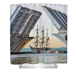 America's Tall Ship Shower Curtain