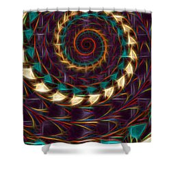 Americindian Shower Curtain