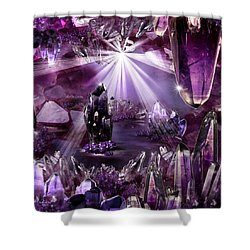 Amethyst Dreams Shower Curtain