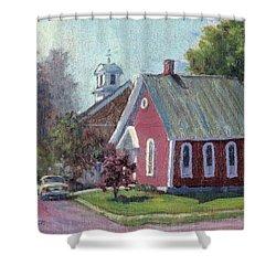 Amherst Chapel Shower Curtain