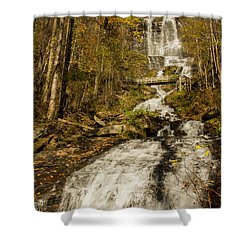 Amicola Falls Gushing Shower Curtain