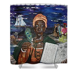 Aminata's Book Of Negroes Shower Curtain