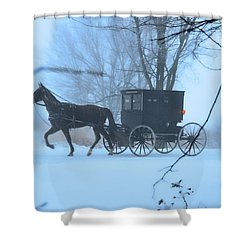 Amish Dreamscape Shower Curtain