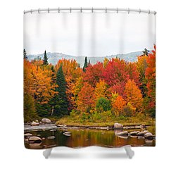 Shower Curtain featuring the photograph Ammonoosuc River by Robert Clifford