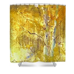 Among The Aspens Shower Curtain