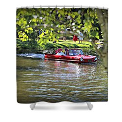 Amphicar Swimming Shower Curtain