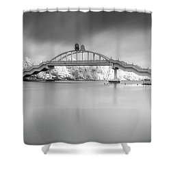 Amritasetu Shower Curtain