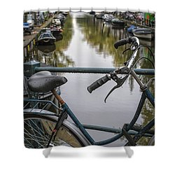 Weary Traveller Shower Curtain