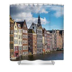 Amsterdam Buildings Shower Curtain