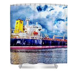 Amsterdam Vessel Shower Curtain