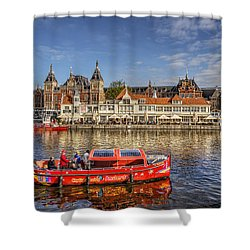 Amsterdam Waterfront Shower Curtain
