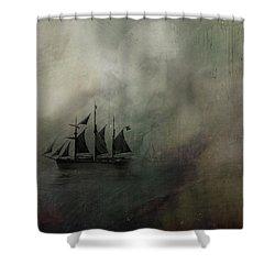 Amundsen And Fram Shower Curtain