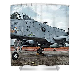 Amy's Jet 6800 Shower Curtain