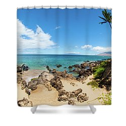 Shower Curtain featuring the photograph Amzing Beach In Hawaii Islands by Micah May
