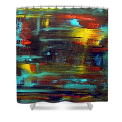 An Abstract Thought Shower Curtain