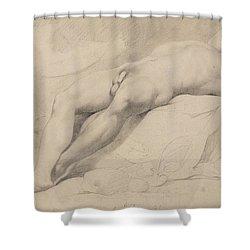 An Academy Shower Curtain by John Hamilton Mortimer