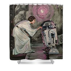 An Act Of Rebellion Shower Curtain