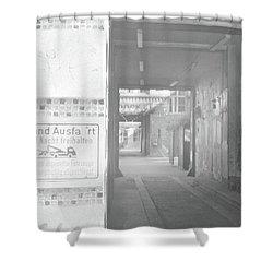 An Alley To A Backstreet Shower Curtain