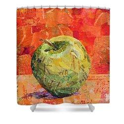 An Apple For Granny Shower Curtain