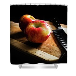 An Apple Or Two Shower Curtain