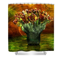 An Armful Of Tulips Shower Curtain