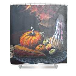 An Autumn Sumphony Shower Curtain