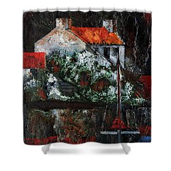 An Cuan Caol, Connemara, Galway Shower Curtain