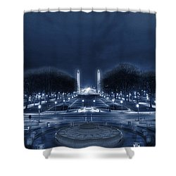 An Evening At The Capitol Shower Curtain