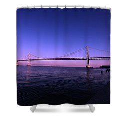 An Evening In San Francisco  Shower Curtain