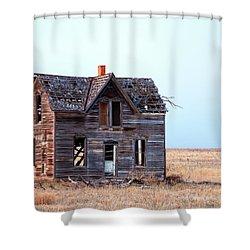 An Evening Near Marquette Shower Curtain
