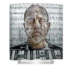 An Innocent Man Shower Curtain