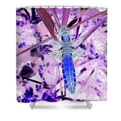 An Instant, A Beating Of Wings 2 Shower Curtain