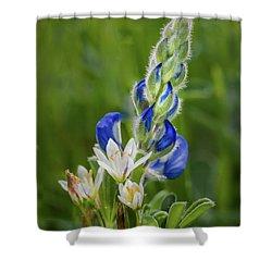 An Intimate Bouquet Shower Curtain