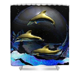 An Ocean Filled With Tears- Shower Curtain