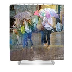 Shower Curtain featuring the photograph An Odd Sharp Shower by LemonArt Photography