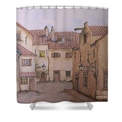 An Ode To Charles Dickens  Shower Curtain by Annemeet Hasidi- van der Leij