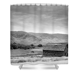 An Old Barn Shower Curtain