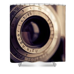 Shower Curtain featuring the photograph An Old Friend by Yvette Van Teeffelen