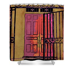 An Open Gate Shower Curtain