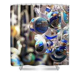 An Ornament For Christmas In Vienna Shower Curtain