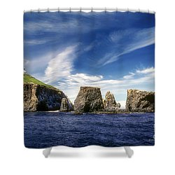 Channel Islands National Park - Anacapa Island Shower Curtain