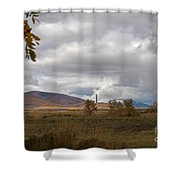 Anaconda Smelter Stack Shower Curtain
