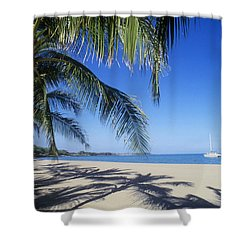 Anaehoomalu Bay Shower Curtain by Greg Vaughn - Printscapes